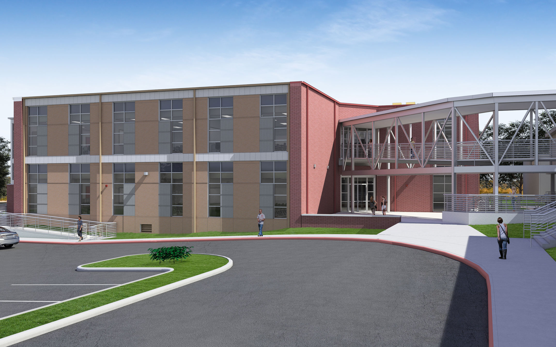 Dwight D. Eisenhower Middle School - North East ISD - Marmon Mok  Architecture