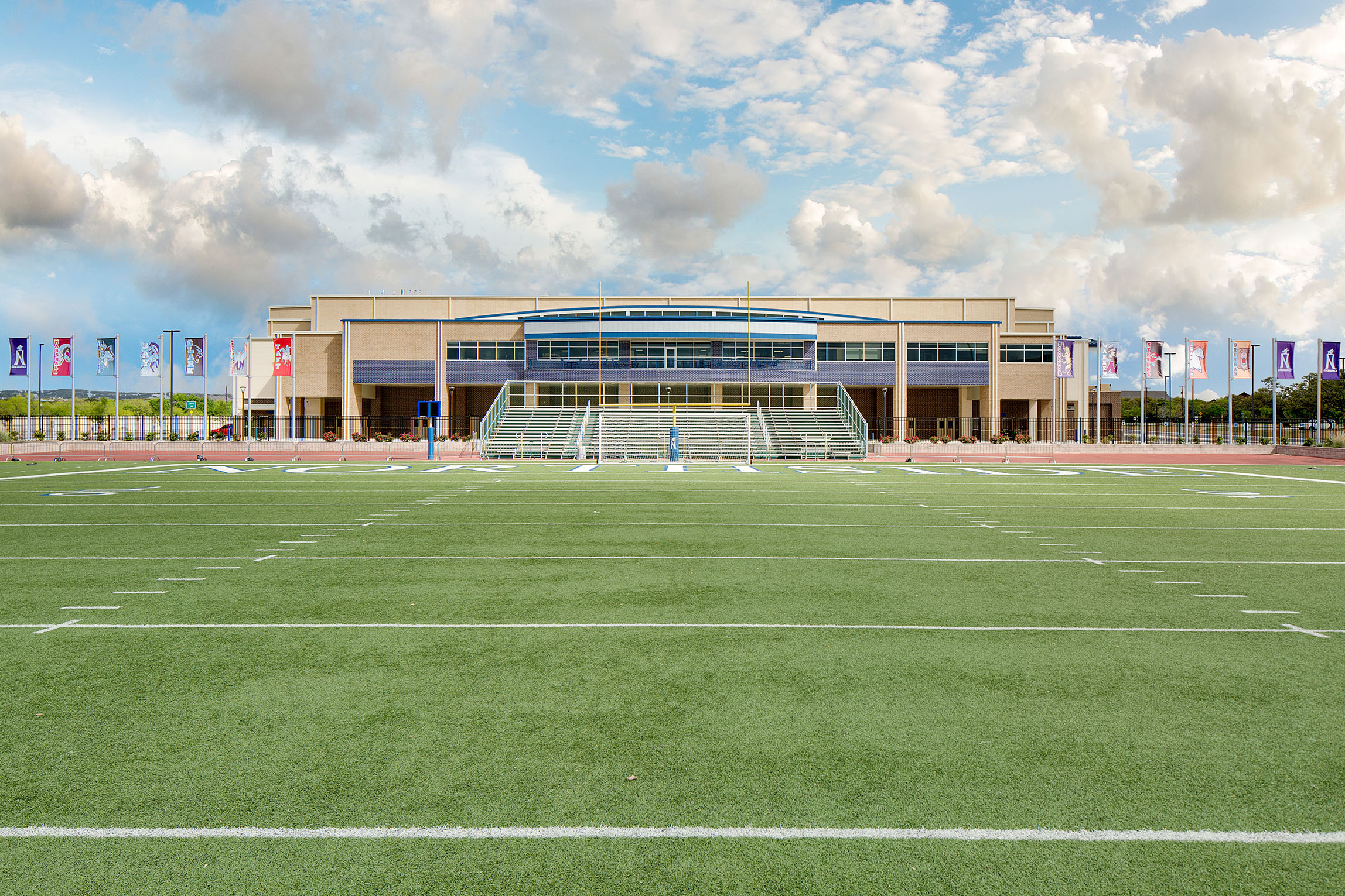 Northside Isd Competitive Sports Gymnasium Marmon Mok