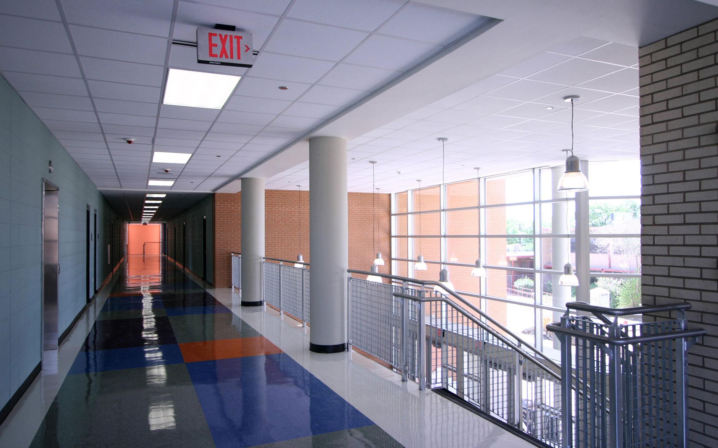 Mccollum High School Renovation Expansion Harlandale Isd