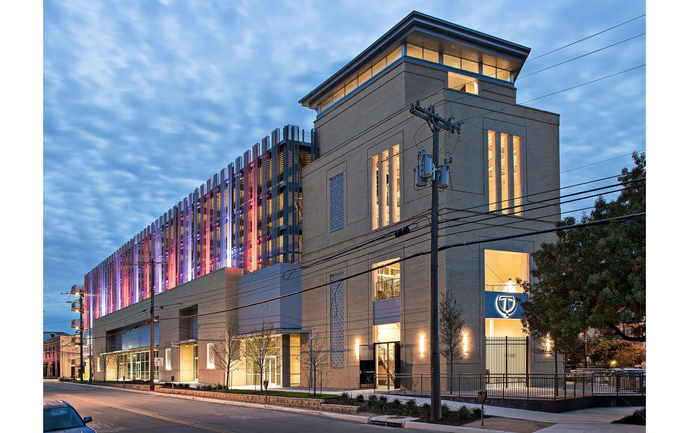 Tobin Center For The Performing Arts Garage Marmon Mok