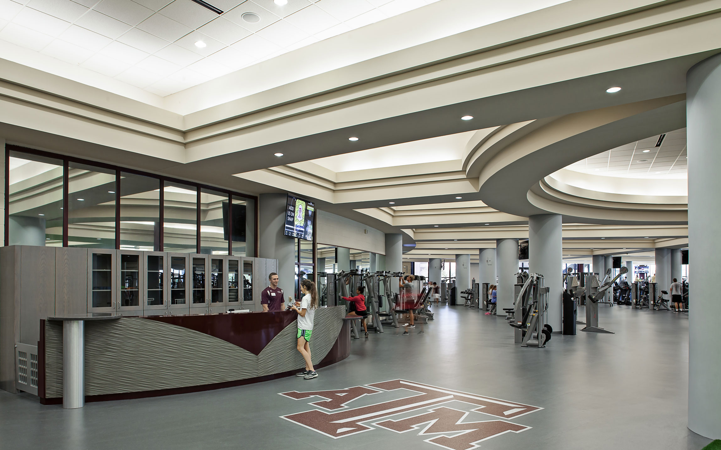 Texas A Amp M Student Recreation Center Renovation And