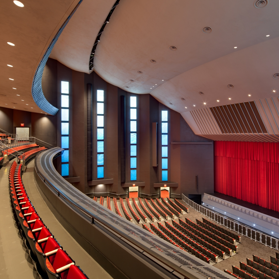 Alamodome Illusions Theater Marmon Mok Architecture