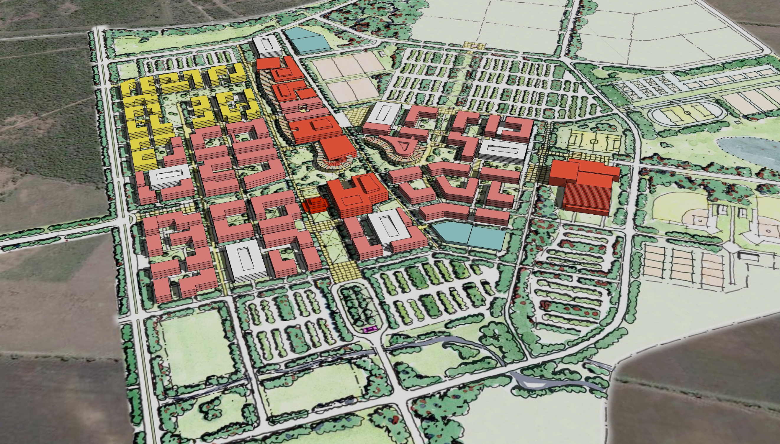 Texas A&M University San Antonio Master Plan