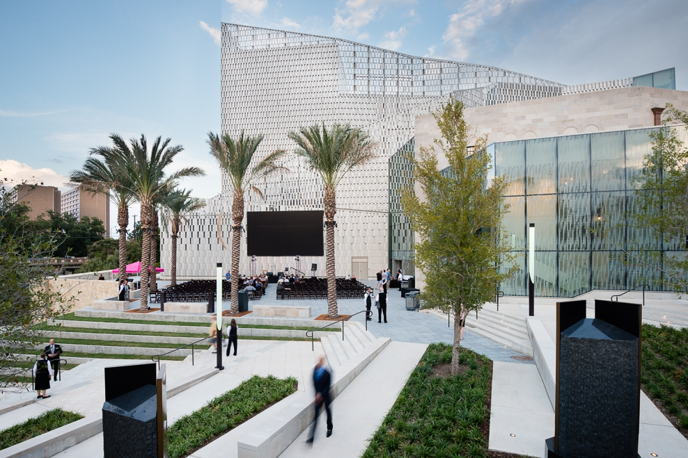 Tobin Center for the Performing Arts Plaza