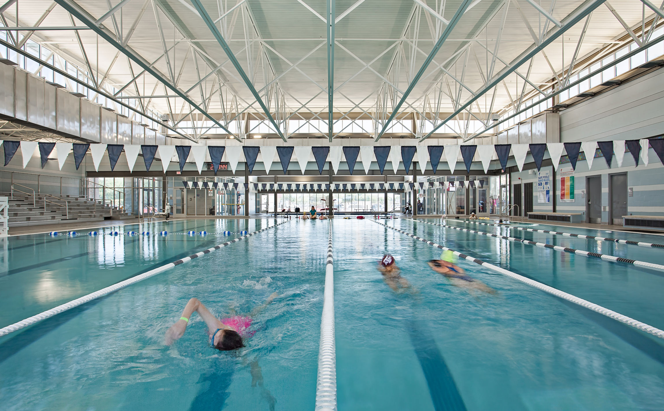 City Of Schertz Natatorium Marmon Mok Architecture