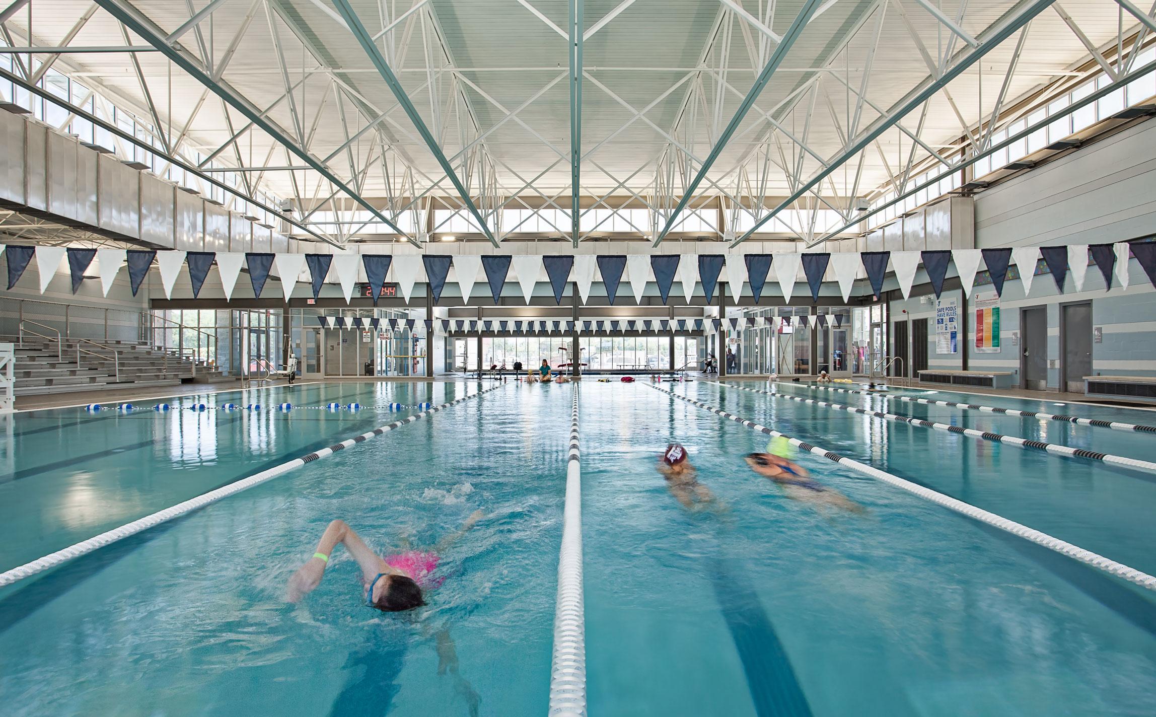 City of schertz natatorium marmon mok architecture City of san antonio swimming pools